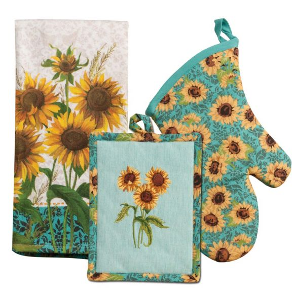 Kay Dee Designs Sunflower Fields Kitchen Ensemble