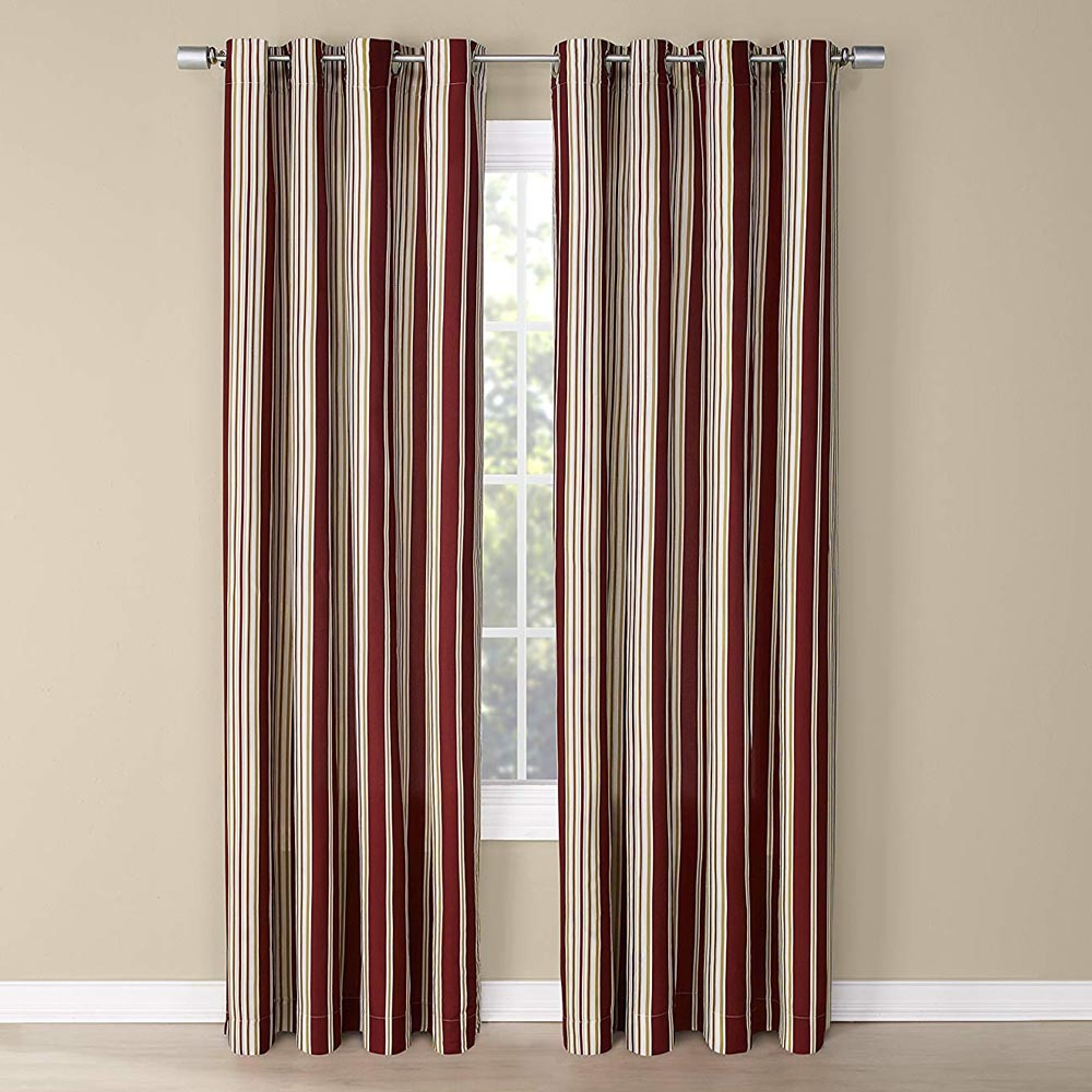 Curtain Panels With Ruffles
