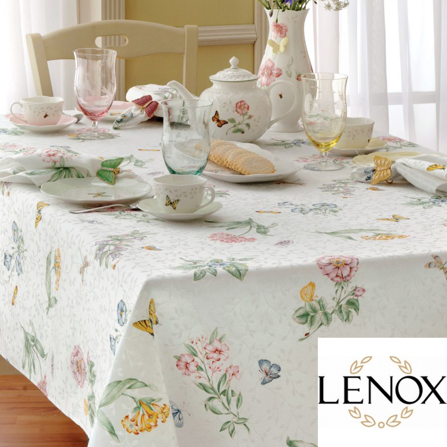 Lenox Butterfly Meadow Tablecloth And Table Linens