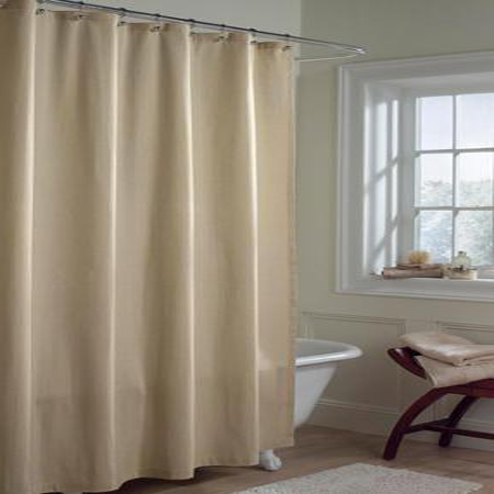 Solid LINEN Microfiber Shower Curtain Or Liner BedBathHomeCom