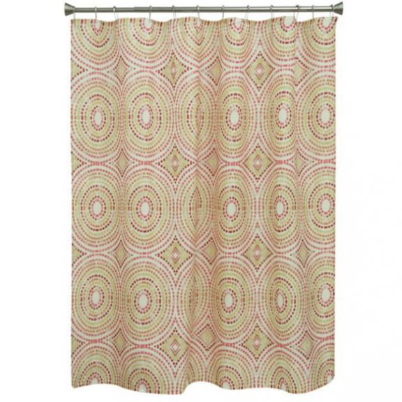 Bacova Mosaic Circles Fabric Shower Curtain Altmeyer S Bedbathhome