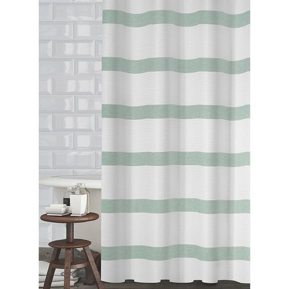Mulberry Mint Green Shower Curtain By Popular Bath
