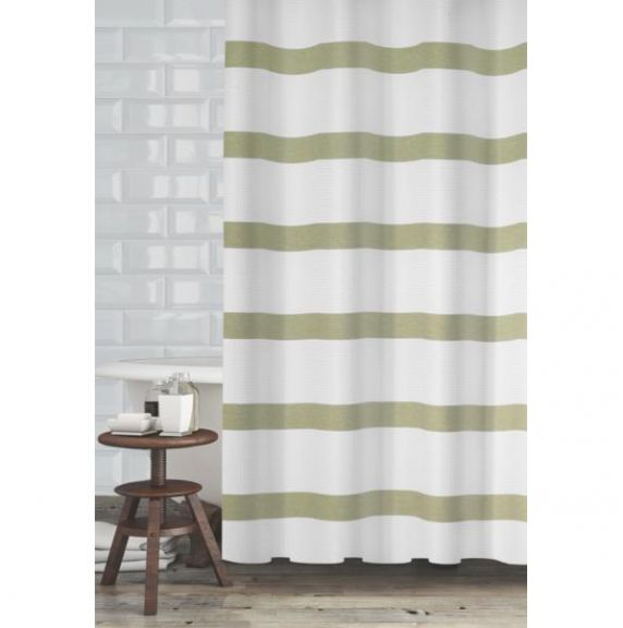 Perfect Mulberry Sage Green Shower Curtain By Popular Bath