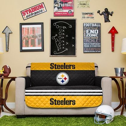 NFL Pittsburgh Steelers Loveseat Protector