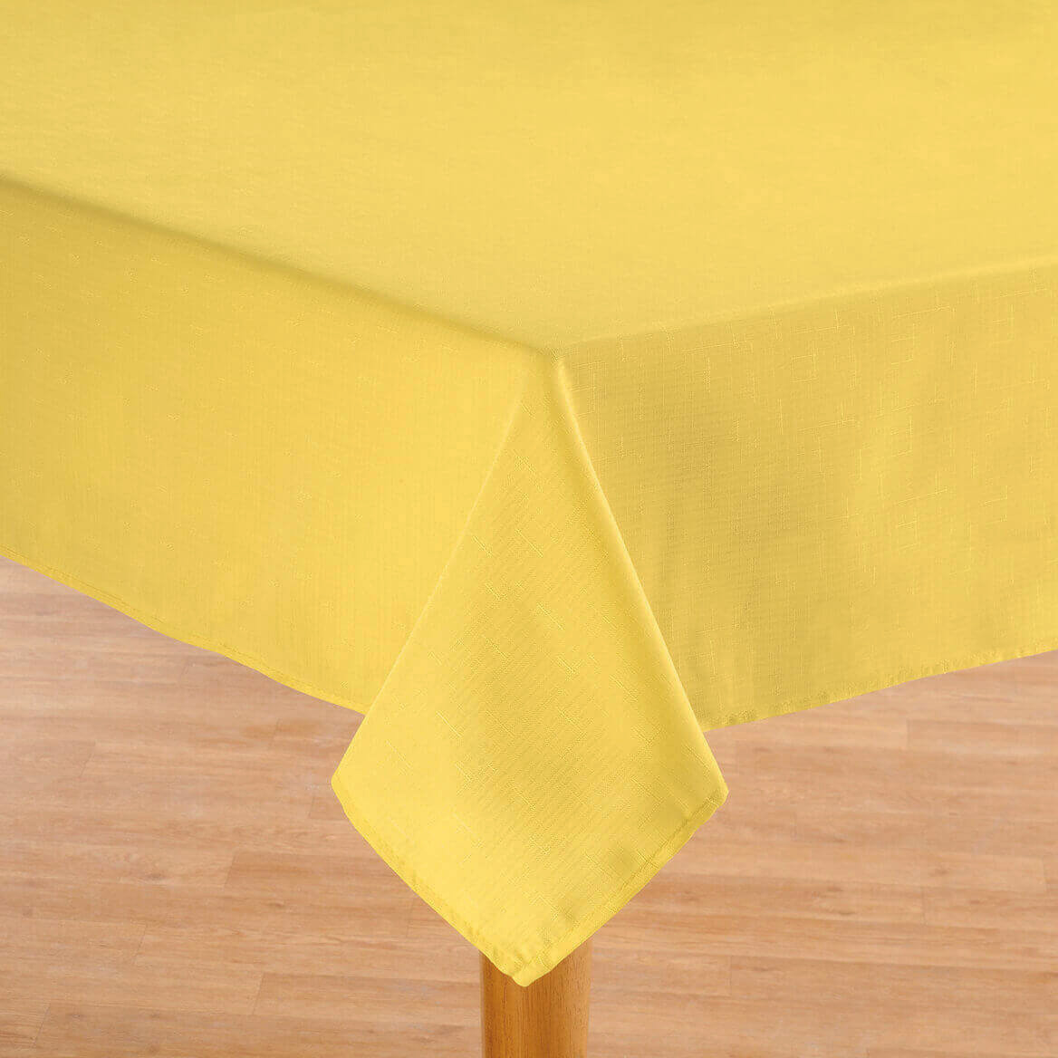 Oxford Solid Yellow Fabric Tablecloth Altmeyer S Bedbathhome