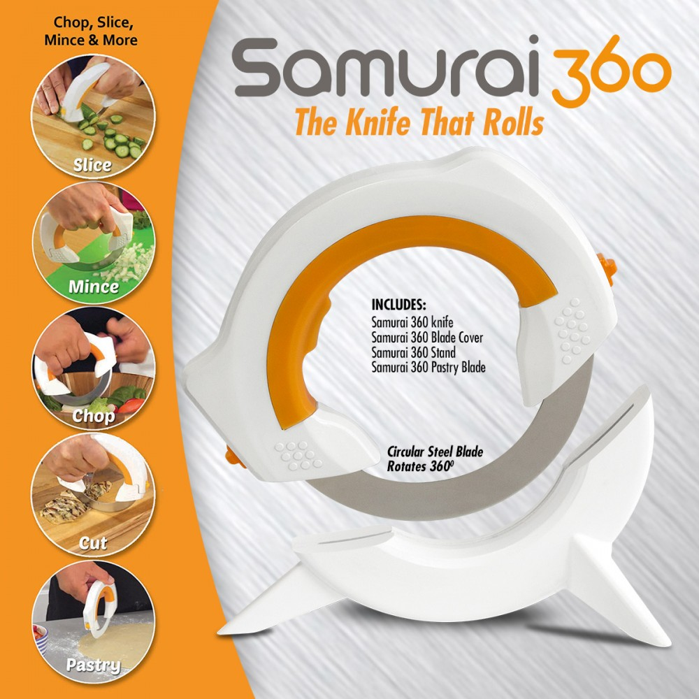 Samurai 360 Rolling Slicing Knife As Seen On Tv