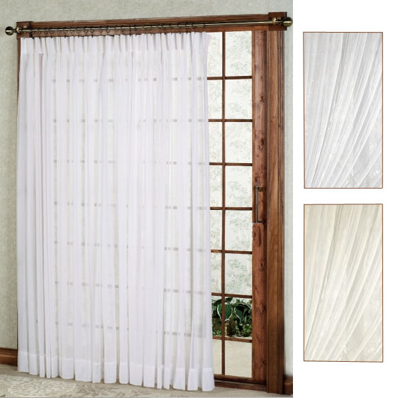Very best One Way Draw Patio Curtain | Thermal Patio Door Curtain  MS48