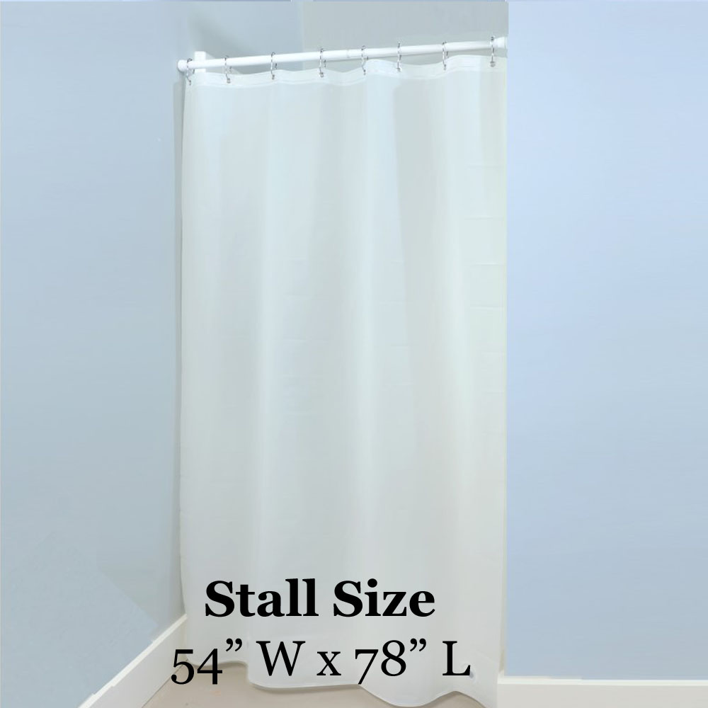 Maytex hotel vinyl shower stall liner in white altmeyer for Bathtub covers liners prices