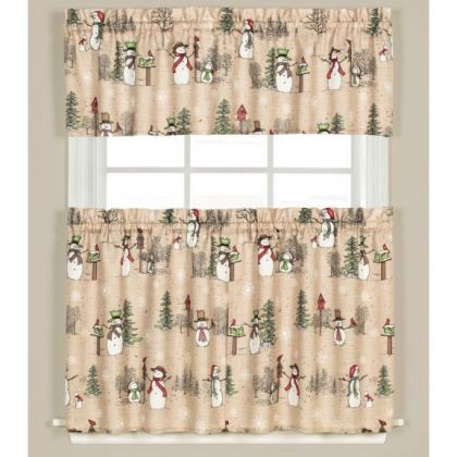 Tier Window Treatments | Shorty Curtains | Valance ...